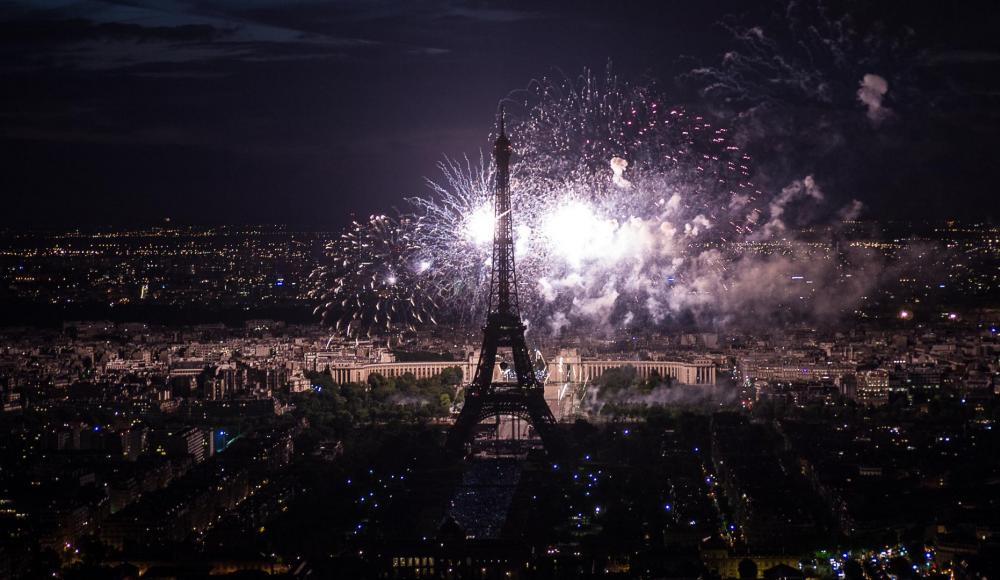 Feu d'Artifice Paris 14 juillet 2015