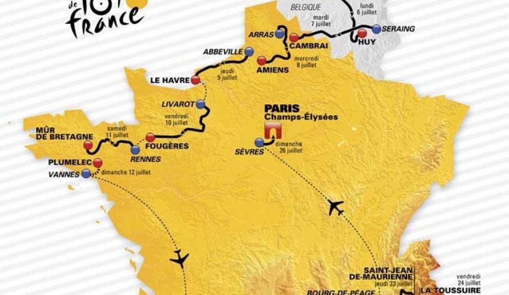 Le 26 juillet... Arrivée du Tour de France sous l'Arc De Triomphe