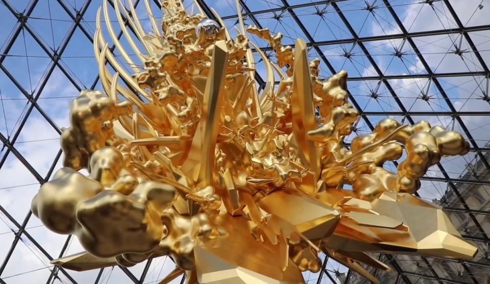 Kohei Nawa expose at the Louvre Museum