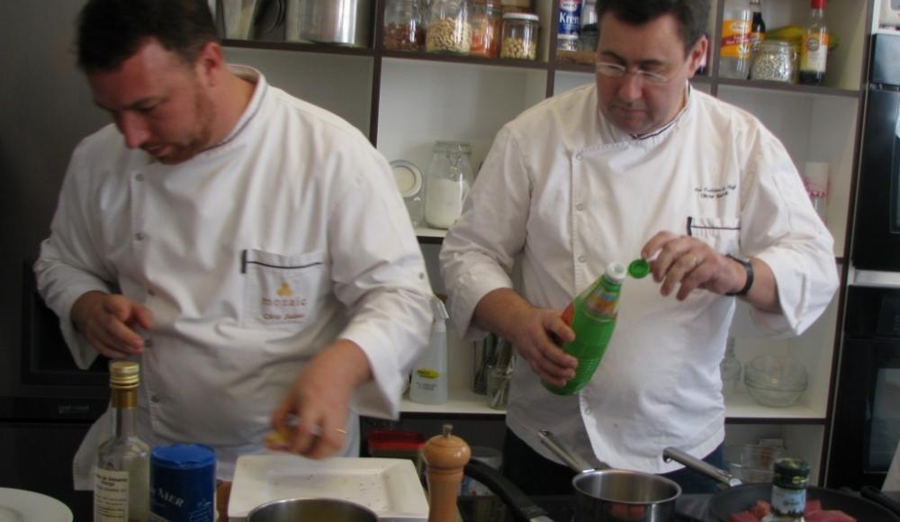 Cours de cuisine en partenariat avec l'hôtel du Lion d'Or Louvre