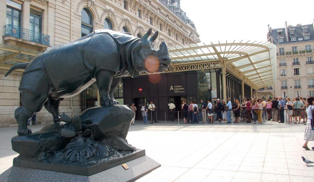 Concierge : Musée d'Orsay